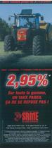 2, 95 % Sour toute la gamme, un taux pareil ça ne se refuse pas!