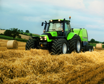 [Deutz-Fahr] trattori Agrotron TTV 1145 - 1160 in studio e al lavoro