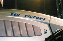 Particolare del trattore Lamborghini Victory 260