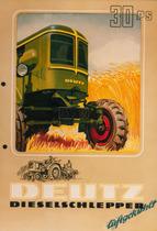 [Deutz] catalogo pubblicitario relativo al trattore F2L 514/53