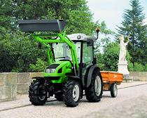 [Deutz-Fahr] trattori serie Agrokid al lavoro