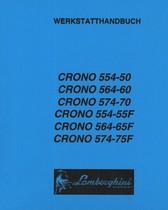 CRONO 554-50 - CRONO 564-60 - CRONO 574-70 - CRONO 554-55 F - CRONO 564-65 F - CRONO 574-75 F - Werkstatthandbuch