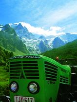 [Deutz-Fahr] trattore D 68 06 in paesaggio alpino