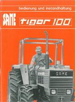 TIGER 100 - Bedienung und instandhalthung