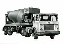 Samecar Elefante TS/A 6x4 con betoniera