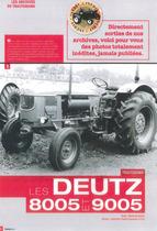 Les Deutz 8005 et 9005