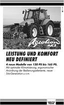 AGROTRON MK3, Leistung und komfort neu definiert