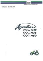 AGROTRON TTV-1130-1145-1160 - Manuel d'atelier