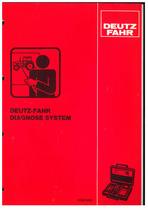 DEUTZ-FAHR DIAGNOSE SYSTEM - Werkstatthandbuch