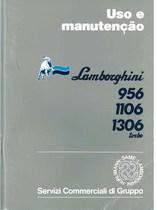 956 - 1106 - 1306 TURBO - Uso e Manutenção
