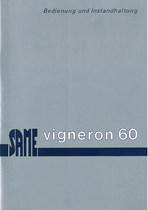 VIGNERON 60 - Bedienung und instandhalthung