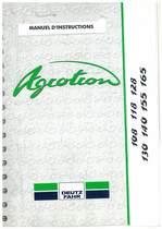 AGROTRON 108-118-128-130-140-155-165 - Utilisation et Entretien