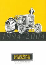 1994 - 2004 Altertrümmer Klingbachtal, 2004