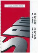DORADO 56 - 66 - 76 - 86 - Utilisation et entretien