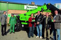 Concessionario Janson - Evento con Agrovector 30.7
