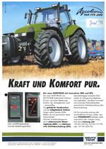 AGROTRON 160 - 175 - 200, Kraft und Komfort pur.