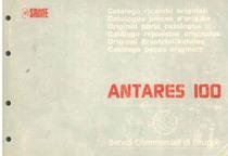 ANTARES 100 - Catalogo Parti di Ricambio / Catalogue de pièces de rechange / Spare parts catalogue / Ersatzteilliste / Lista de repuestos / Catálogo peças originais