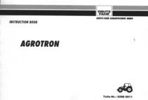 AGROTRON 4.70 - AGROTRON 4.80 - AGROTRON 4.85 - AGROTRON 4.90 - AGROTRON 4.95 - AGROTRON 6.00 - AGROTRON 6.05 - AGROTRON 6.15 - AGROTRON 6.20 - AGROTRON 6.30 - AGROTRON 6.45 - Instruction book