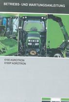 6180 AGROTRON - 6180P AGROTRON - Betriebs - und Wartungsanleitung
