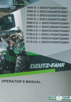 5090 G ->ZKDCF50200TD10001 - 5090 G ->ZKDCH50200TD10001 - 5100 G ->ZKDCG30200TD10001 - 5100 G ->ZKDCJ30200TD10001 - 5090.4 G ->ZKDCF90200TD20001 - 5090.4 G ->ZKDCH90200TD20001 - 5105.4 G ->ZKDCG70200TD20001 - 5105.4 G ->ZKDCJ70200TD20001 - 5115.4 G ->ZKDCH10200TD20001 - 5115.4 G ->ZKDCK10200TD20001 - Operator's manual