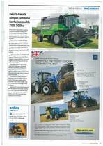 Deutz-Fahr's simple combine for famres with 250-300ha