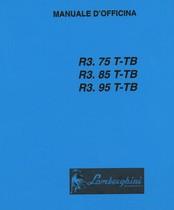 R3.75 T-TB - R3.85 T-TB - R3.95 T-TB - Manuale d'officina