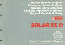 SOLAR 55 C - Catalogo Parti di Ricambio / Catalogue de pièces de rechange / Spare parts catalogue / Ersatzteilliste / Lista de repuestos