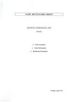 Same Deutz-Fahr Group Spa - Bilancio consolidato 1995, dettagli