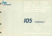 105 FORMULA - Catalogo Parti di Ricambio / Pièces de Rechange du Tracteur / Tractor Spare Parts / Ersatzteile für den Schleppers / Repuestos para Tractor / Catálogo de peças originais