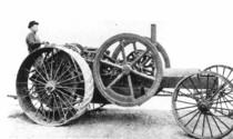 [Deutz] primo prototipo di trattore Deutz sviluppato dalla filiale dell'azienda di Philadelphia (USA)