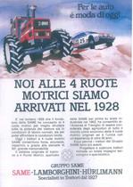 Noi alle 4 ruote motrici siamo arrivati nel 1928