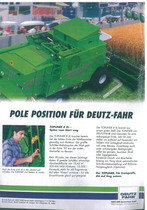 Pole Position fuer Deutz - Fahr