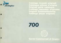 700 - Catalogo Parti di Ricambio / Pièces de Rechange du Tracteur / Tractor Spare Parts / Ersatzteile für den Schleppers / Repuestos para Tractor / Catálogo de peças originais