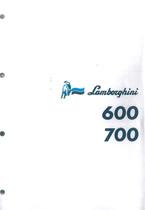 600 - 700 - Manuel d'Atelier