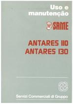 ANTARES 110 - ANTARES 130 - Uso e Manutençao