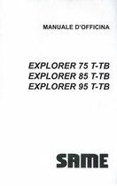 EXPLORER T-TB 75-85-95 - Manuale d'officIna