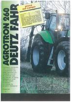 Agrotron 260 Deutz Fahr