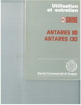ANTARES 110 - 130 - Utilisation et entretien