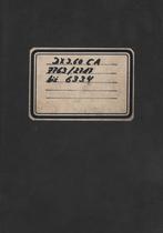 Deutz-Fahr DX 3.60 CA: dalla matricola n. 7763 2717 alla matricola n. 7763 6334