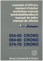 CRONO 554.50 - 564.60 - 574.70 - Manuale d'Officina