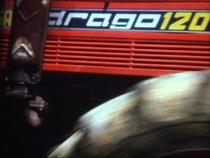 Trattore SAME Drago 120 in prove di aratura