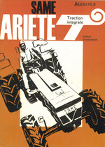 ARIETE T - TRACTION INTEGRALE - Notice d'entretien
