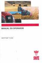 KRYPTON³ 110 SIX - Manual do operador