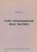 Sez. 9 - PARTI COMPLEMENTARI DELLE TRATTRICI - Catalogo Parti di Ricambio / Catalogue de pièces de rechange / Spare parts catalogue / Ersatzteilliste / Lista de repuestos