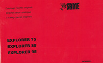 EXPLORER 75-85-95 - Catalogo ricambi originali / Original parts catalogue / Catálogo peças originais