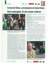Comercail Veiras, concesionario de SAME Deutz-Fahr -Lamborghini, 23 anos dando confianza
