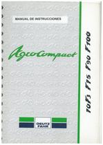 AGROCOMPACT 70F3-F75-F90-F100 - Uso y Mantenimiento