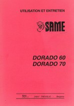 DORADO 60-70 - Utilisation et Entretien