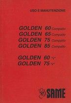 GOLDEN 60-65-75-85 COMPATTO & GOLDEN 60-75 V - Libretto Uso & Manutenzione