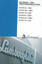 R3 EVO 85 ->16001 - R3 EVO 100 ->16001 - R3 EVO 110 ->5001 - R3 EVO 85 ->20001 - R3 EVO 100 ->20001 - R3 EVO 110 ->1001 - Betriebs - und Wartungsanleitung